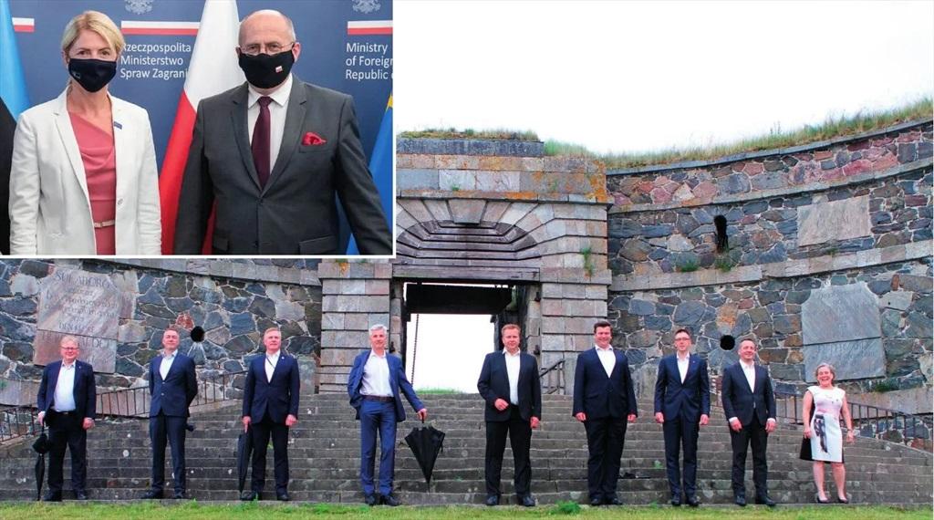 Hultqvist besökte brittisk-ledd militärallians